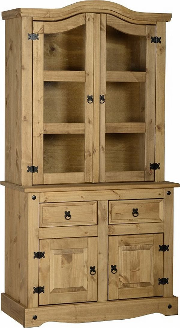 hutches top room finish only hutch walden glass product furniture pine heirloom yield htm dining house