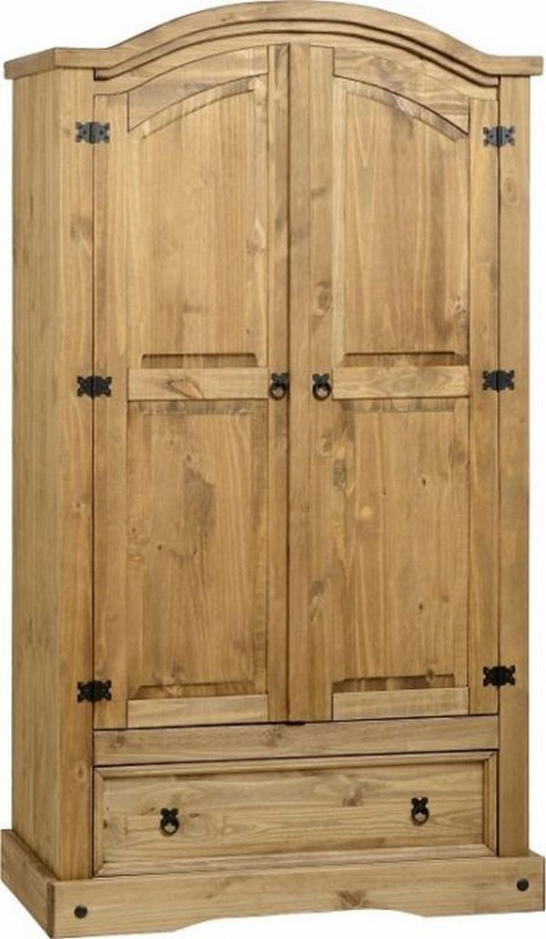 pine furniture bedroom best known door amazon within storage kitchen collection richmond of wardrobe home well co uk wardrobes steens organization