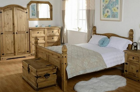 Corona 2 Door Wardrobe £155.00   .Mexican Pine   Corona Bedroom Mexican  Pine Furniture For Bedrooms, Living And Dining Rooms Part 82
